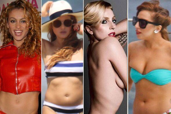 Todas estas famosas han tratado su cuerpo como si fuera un sube y baja,...