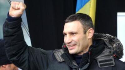 Vitali Klitschko es candidato a la presidencia de Ucrania.