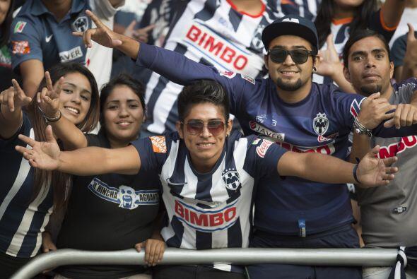 En Monterrey, los seguidores de Rayados suelen ser de los más pas...