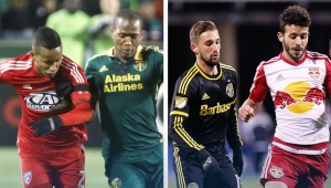 FC Dallas vs Portland Timbers / New York Red Bulls vs Columbus Crew
