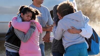 Dos heridos en un tiroteo en escuela de Nuevo México
