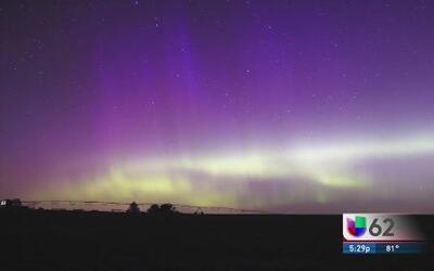 Se generó aurora boreal en Minnesota debido a tormenta electromagnética