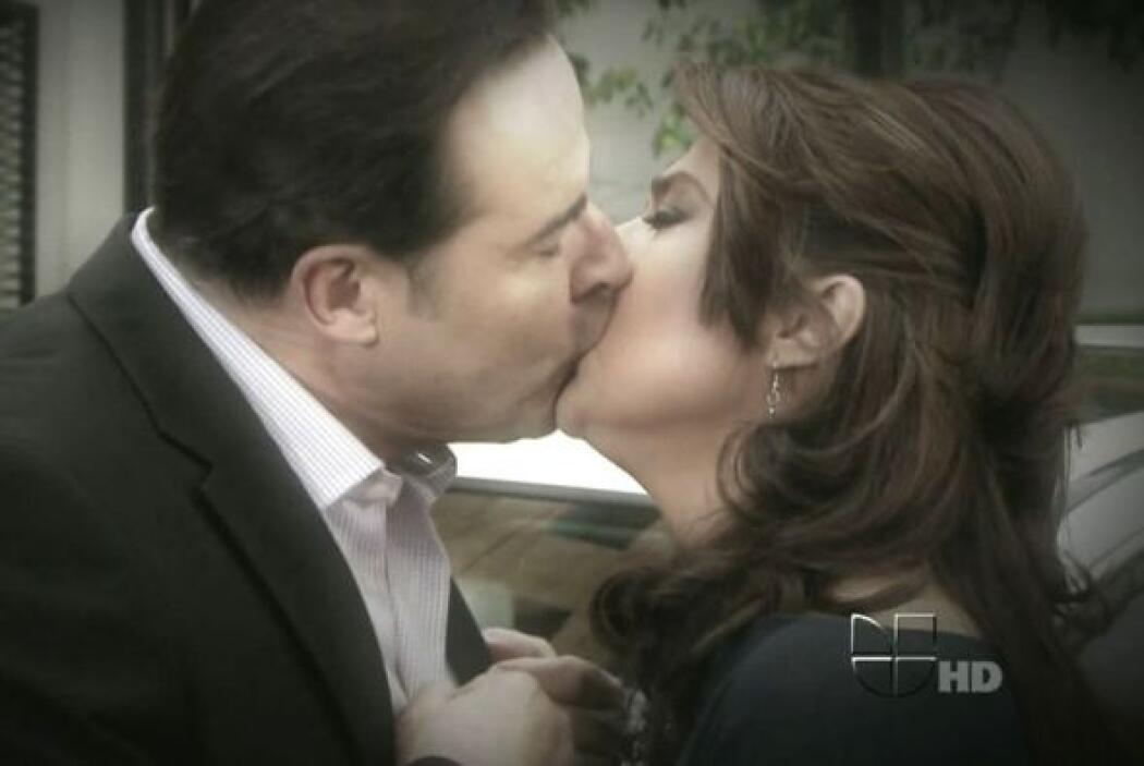 """En """"Triunfo Del Amor"""" los vimos juntos otra vez."""