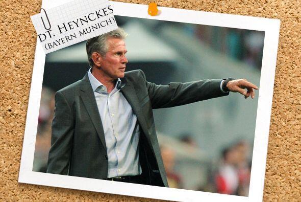 Todos estos jugadorazos son dirigidos por Jupp Heynckes, entrenador del...
