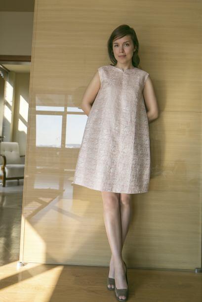 Un vestido de fiesta. Anímate a lucir un vestido largo en blanco inverna...