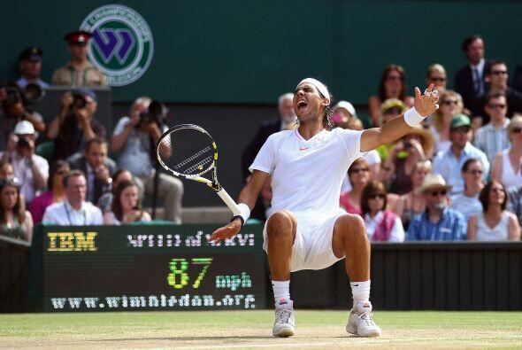 Cuando ganó el match point, Nadal no pudo evitar una de sus maxim...
