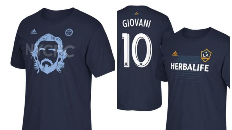 Camisetas de regalo en FutbolMLS.com de Giovani dos Santos y Andrea Pirlo