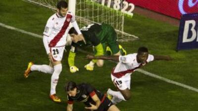 El Rayo se llevó esta versión del 'derby' madrileño'.