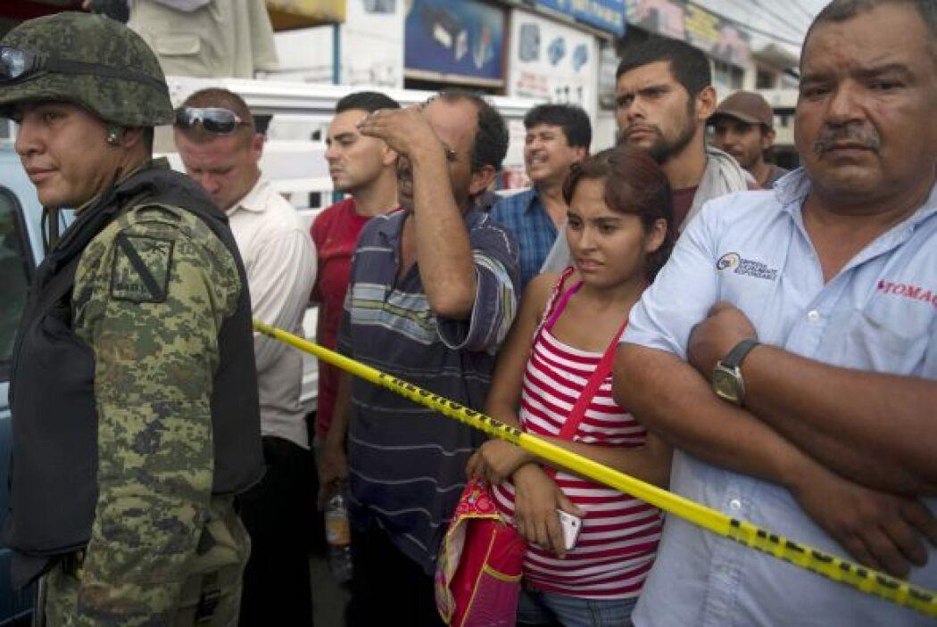 México continúa experimentando alarmantes niveles de violencia, alertó e...