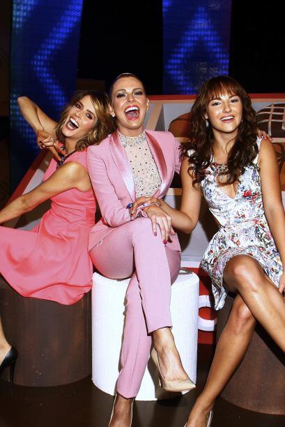 Marjorie de Sousa, Claudia Álvarez y Jade Fraser, las bellezas de la tel...