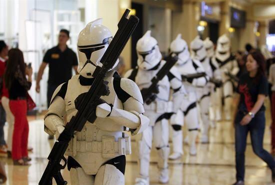 Y ya instalado como el mes Star Wars, la tradición se ha extendid...