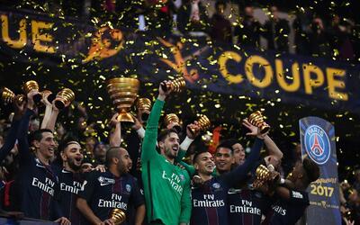 Paris St. Germain campeón de la Copa de la Liga