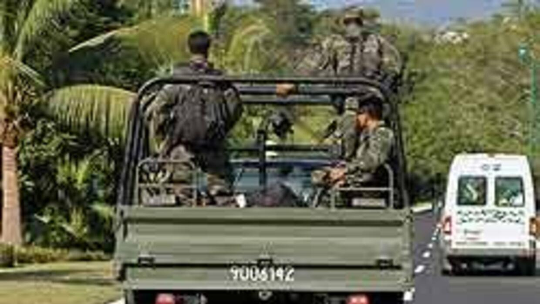 El Ejército mexicano 'reprueba' agresión de soldados contra tres periodi...