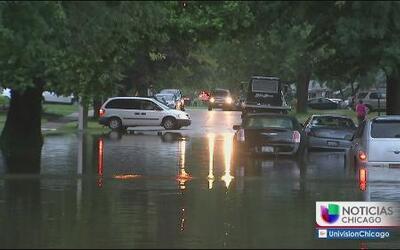 Se registran inundaciones en South Holland por las fuertes lluvias