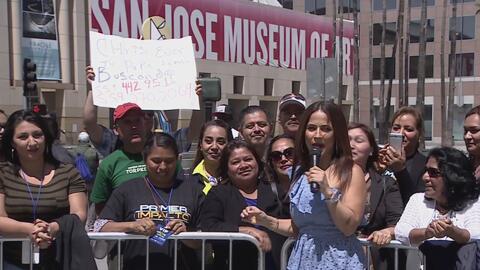 Las madres de San José, California, dicen presente en la Ruta de Impacto