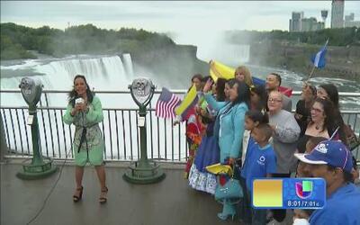 Conoce las cataratas del Niagara junto a Birmania