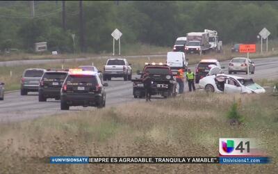 Accidente mortal en carretera 90 y la 1604