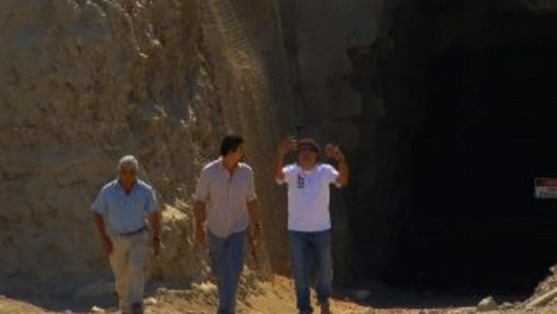 Nuestro corresponsal Victor Hugo Saavedra habló con tres de los mineros...