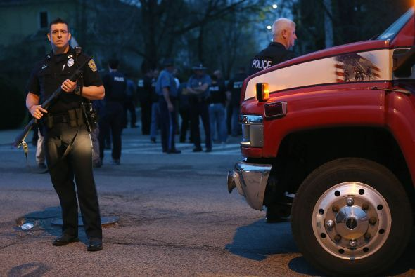 La policía confirmó vía Twitter, la detención del segundo sospechoso de...