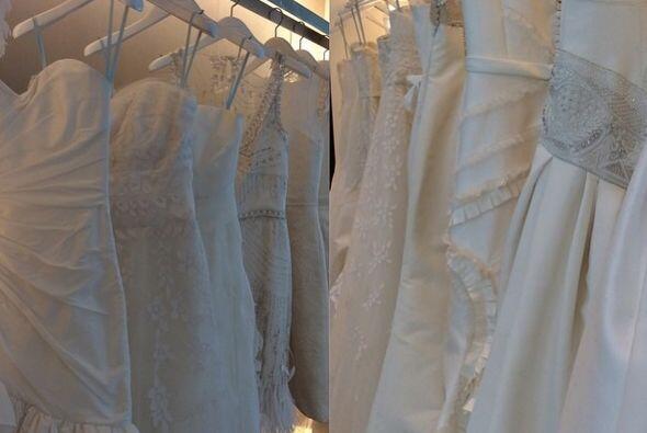 """Varios son los vestidos de diseñador que le hicieron """"ojitos"""" a esta bel..."""