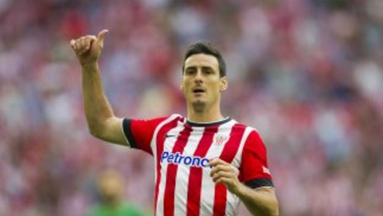 Aduriz anotó para el Bilbao ante Celta.