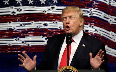 """Donald Trump: """"Vamos a hacerle grandes cambios o nos vamos a deshacer de..."""