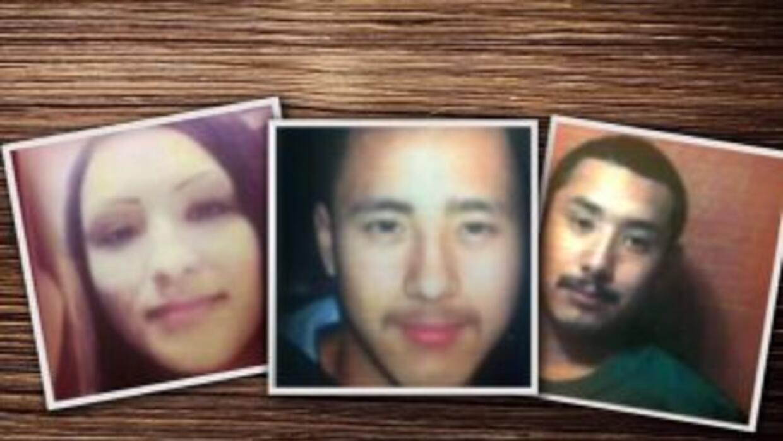 La fiscalía de Tamaulipas informó que los tres cadáveres corresponden a...