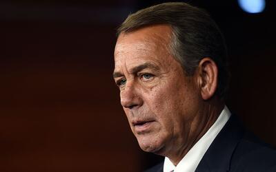 Boehner dijo que ha sido amigo de Trump por 15 años, pero que a&u...