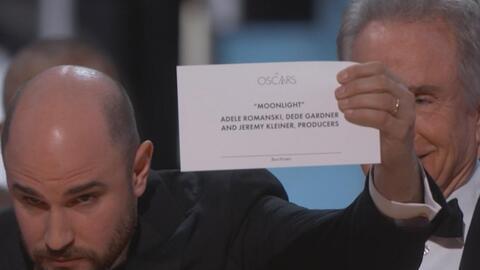 El gran error en la entrega de los Oscar a 'Mejor película'
