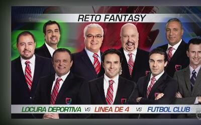 Reto de UD Fantasy: Locura Deportiva vs Fútbol Club vs Línea de 4