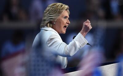 Las 8 claves del discurso de Hillary Clinton en 3 minutos y medio