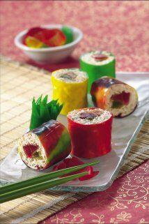 Sushi Frutal: ¡No hay nada sospechoso ni extraño en este co...