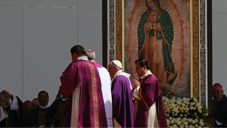 Papa Fracisco México, Ecatepec