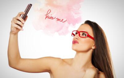 Tomando Nude Selfie