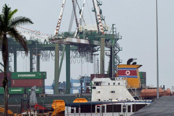 7. En el mes de julio la retención en Panamá de un barco de bandera norc...