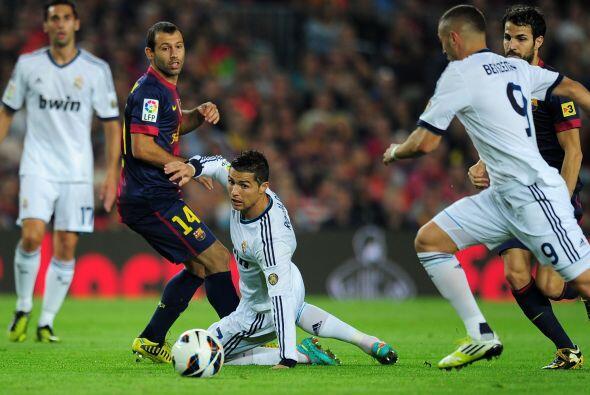 El duelo inició y el cuadro barcelonista, con una defensa alternativa al...