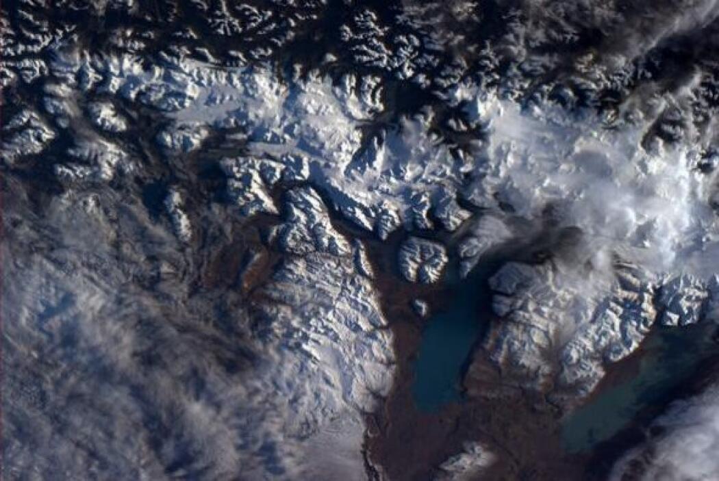 Hermosos glaciares fluyen cerca del Estrello de Magallanes. Yo estuve ah...