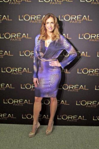 La Flaca acudió a un evento organizado por L'Oreal Paris para conocer lo...