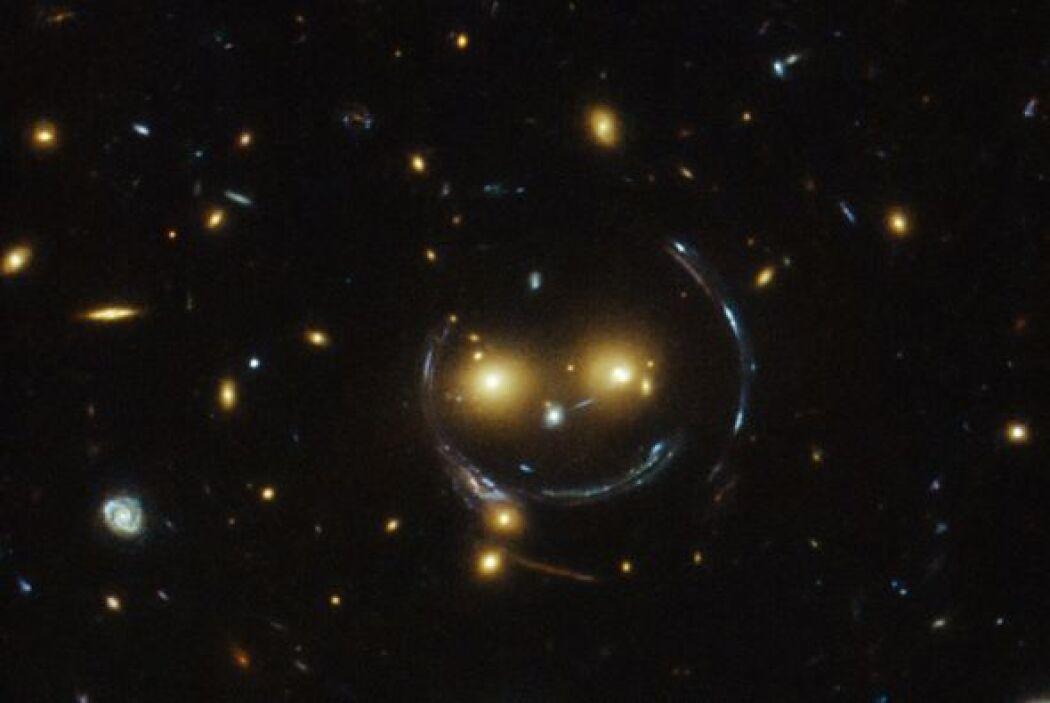 Si te parece que estás viendo una carita feliz en el espacio, tienes raz...