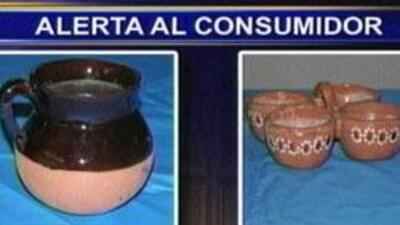Alerta sobre productos con plomo. Utensilios de comida con altos niveles...
