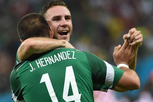 Un año más tarde fue titular con la Selección Mexic...