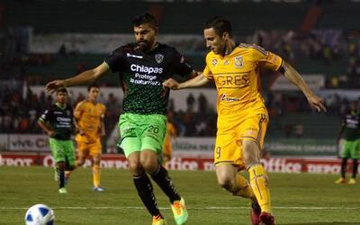 Chiapas empata sin goles con Tigres en la fecha 7 de la Liga MX
