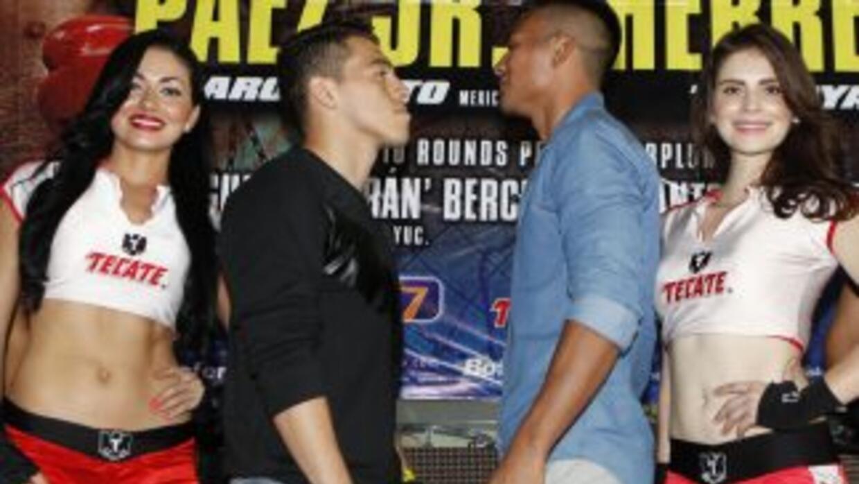 Páex Jr. y Herrera listos par adar una gran pelea (Foto: Zanfer).