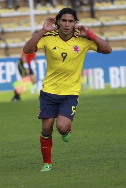 Con la selección de Colombia también puso su lugar en los almanaques al...