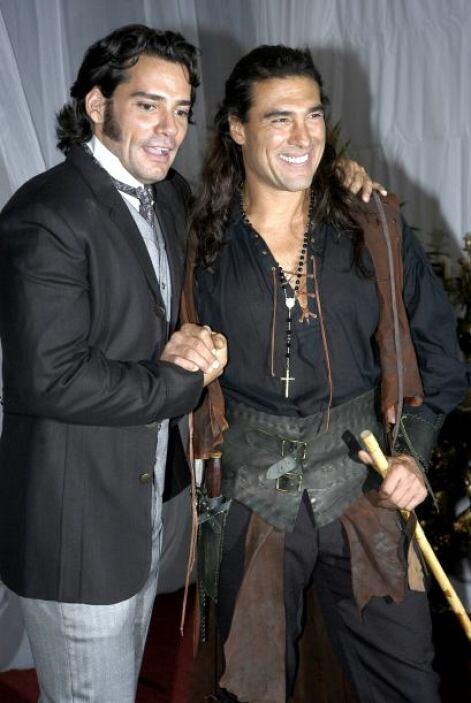 """Eduardo Yáñez y Cristián de la Fuente actuaron juntos en """"Corazón Salvaj..."""
