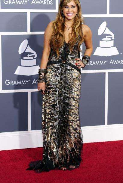 En la entrega de los Grammy del año pasado, esta estrella causó revuelo...