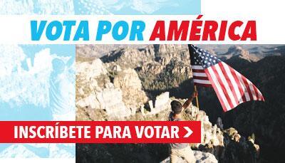 Vota por America