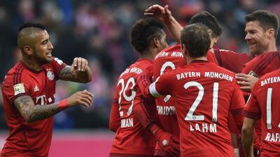 Bayern de Múnich sigue liderando con amplitud la Bundesliga.