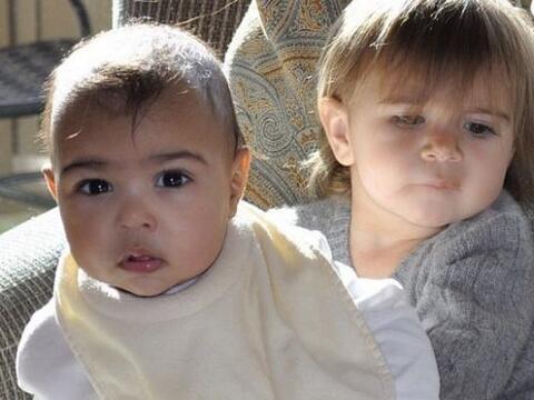 Kim Kardashian compartió una tierna foto de su bebita Nori, en br...