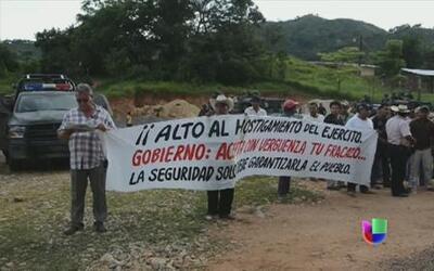 La violencia de la delincuencia organizada azota a zonas rurales de México